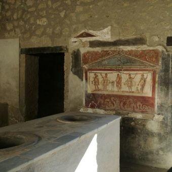 The last day of Lucius Vetutius Placidus in Pompeii