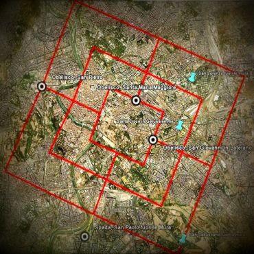 Misteri di Roma, volume 4: i 13 obelischi, il Pantheon e la visione di Costantino
